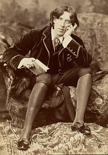 Wilde in 1882 by Napoleon Sarony
