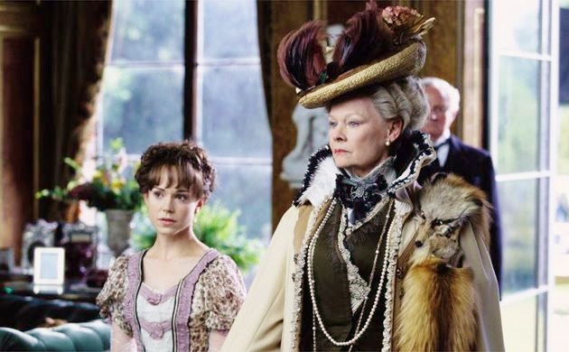 Frances O'Connor and Judi Dench
